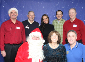 Sunrise Rotary members at PACE for our 8th Santa Breakfast.